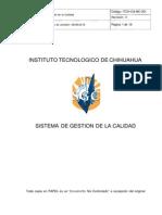 1ITCH CA MC 001Manual de Calidad