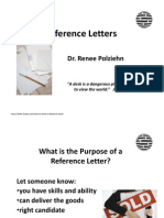 Reference Letters PD Week