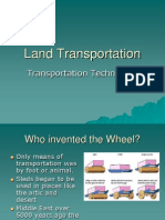 Land Transportation