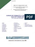 CURSOS DE FORMACIÓN A DISTANCIA