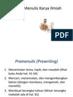 03 a Proses Menulis Karya Ilmiah