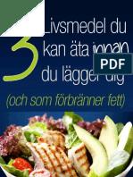 3-livsmedel MaxaDinFettforbranning