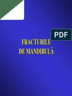 Curs Fracturi de Mandibula