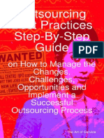 [Itpub.net]Outsourcing Best Practices Step-By-Step Guide