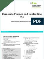 Corporate Finance III