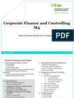 Corporate Finance IIIvb