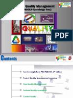 Project Quality Management - PMI PMBOK
