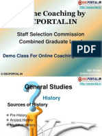 SSC Online Coaching Demo for CGL Tier 1