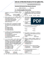 CPT Dec.2013 Question Paper Solution Dld From CAcracker.com