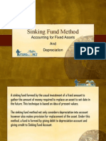 Article on Sinking Fund Method - Accounting for Fixed Assets and Depreciation