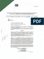 Decreto de levantamiento de reparos de nóminas del mes de diciembre 2013. Ayuntamiento de Leganés