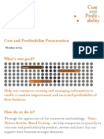 Cost and Profitability Presentation October 2013