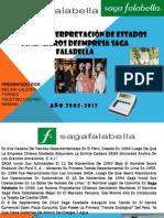 ANÁLISIS E INTERPRETACIÓN DE ESTADOS FINANCIEROS DEEMPRESA