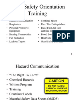 Basic Safety Orientation for all