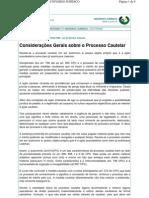 Procedimento Cautelar 01