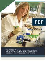 2013 NZ Universities Directory