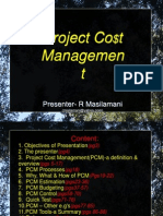 Projectcost Management