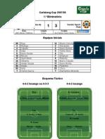 FC Vizela vs Varzim SC (1.ª eliminatória - Carlsberg Cup 2007-2008)