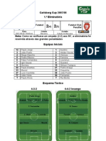 Gil Vicente FC vs FC Penafiel (1.ª eliminatória - Carlsberg Cup 2007-2008)