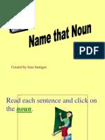 Naming Nouns - Game