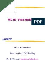 Course Introduction Fluid I
