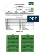 SC Freamunde vs SC Beira-Mar (1.ª eliminatória - Carlsberg Cup 2007-2008)