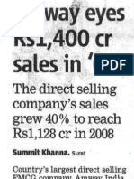 Amway India sales in gujarat
