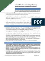 Ensino Vocacional Na Alemanha-texto Da OCDE