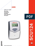 Viessmann SCU124 Solar Control Unit for Single Load Installation and Operating Instructions