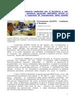 Audizione Commissione Ambiente Regione