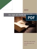 Au Sujet de Farid Al-Makki