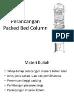 Perancangan Packed Bed Tower