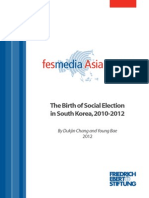The Birth of Social Election in South Korea 2010-2012