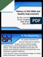 HistoryofISO9000andQuality Improvement