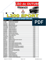 L200 SPORT - promoção OUT12