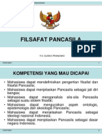 (1) FILSAFAT PANCASILA