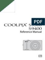 Nikon Coolpix S9500 - Manual Utilizare