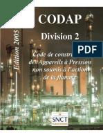 Codap 2005 Division 2