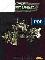 Warhammer 40k - Codex - Chapter Approved 2004