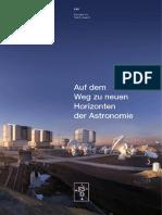 Reaching New Heights in Astronomy (Deutsch)