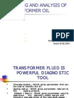 Presentation Transformer Oil
