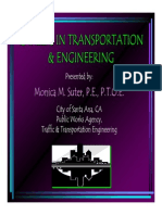 Careers in transportation engineering