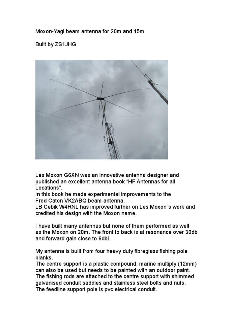 40m Wire Moxon
