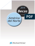 Bases Becas 2014 América del Norte