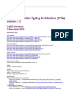 DITA1.2 Spec