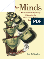 Eric M. Gander on Our Minds How Evolutionary Psychology is Reshaping the Nature Versus Nurture Debate 2003