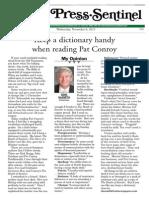 Dink Pat Conroy11!6!13