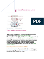 72673557 Lesions of Upper Motor Neurons and Lower Motor Neurons
