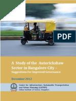 Autorickshaws-Blore FinalReport Dec12 Cistup