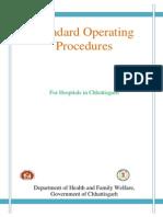 2 Standard Operating Procedures for Hospitals